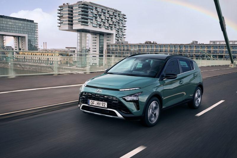 Neuer Hyundai BAYON auf Platz 1 bei Vergleichstest von Auto Bild
